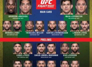 UFC Fight Night 119 fightcard