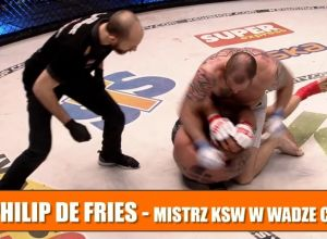 Philip de Fries po zwycięstwie na KSW 43