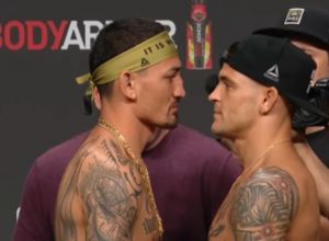 UFC  236 Holloway vs Poirier