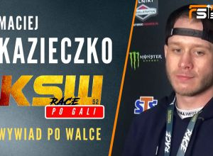Maciej Kazieczko po KSW 52