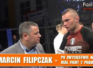 Real Fight 2 Marcin Filipczak