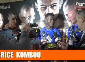 Brice Kombou po DSF Kickboxing Challenge ''Twierdza''