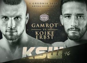 Gamrot vs Erbst na KSW 46