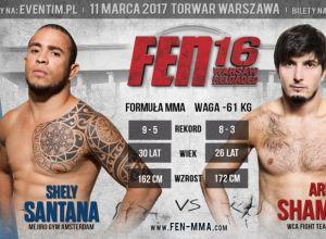 FEN 16 Santana vs Shamaev