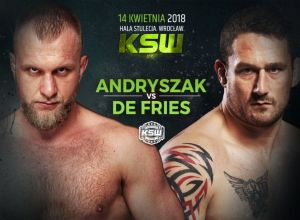 KSW 43 Andryszak vs De Fries