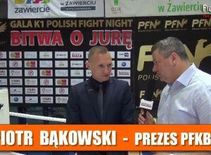 Piotr Bąkowski po PFN 2