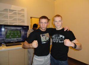 Stanisław Zaniewski Tadas Jonkus Kickboxing Muay Thai