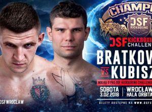DSF Kickboxing Challenge 13 Bratkowicz vs Kubiszyn