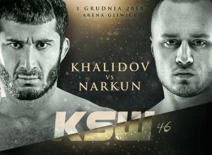 KSW 46 Khalidov vs Narkun