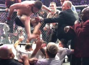 Khabib Nurmagomedov Brawl UFC 229