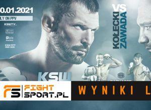 KSW 58 wyniki na żywo / results live