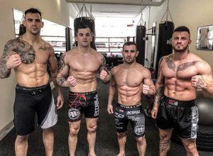 Aleksandar Rakić, Roberto Soldić, Antun Racić, Erko Jun