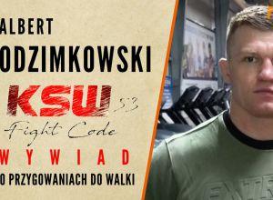 Albert Odzimkowski przed KSW 53