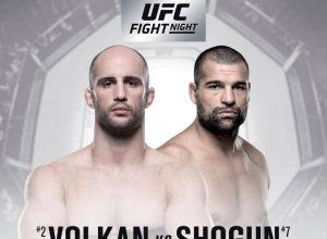 UFC Fight Night 134 Volkan vs. Shogun