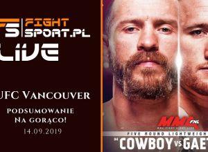 UFC Vancouver Live