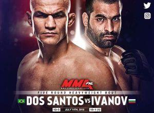 UFC Fight Night 133 dos Santos vs. Ivanov