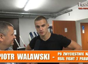 Real Fight 2 Piotr Walawski
