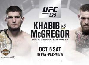 UFC 229: Nurmagomedov vs Mcgregor