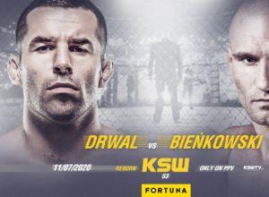 KSW 53 Tomasz Drwal vs Łukasz Bieńkowski