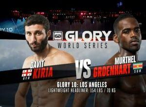 Glory 10 Kiria vs Groenhart