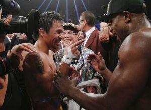 Floyd Mayweather vs Manny Pacequio