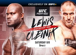 UFC Fight Night 174 Lewis vs Oleinik