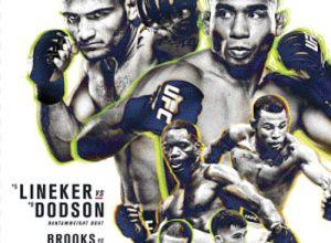 UFC Fight Night 96 Lineker vs. Dodson