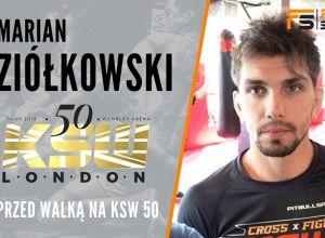 Marian Ziółkowski przed KSW 50
