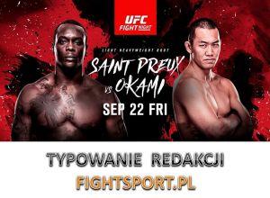 UFC Fight Night 117 typowanie