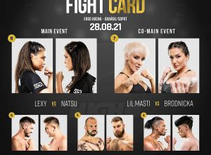 HIGH LEAGUE 1 fight card / karta walk