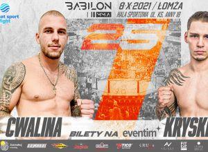 Babilon MMA 25 Cwalina vs Kryskiewicz
