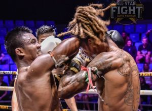 Gaetan Dambo vs Buakaw Banchamek na All Star Fight 6