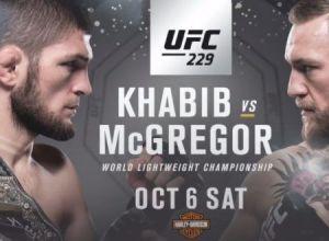 UFC 229 Khabib vs. McGregor
