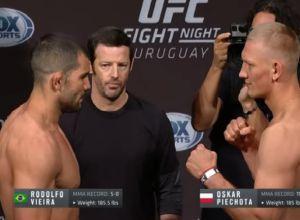 Vieira vs Piechota UFC