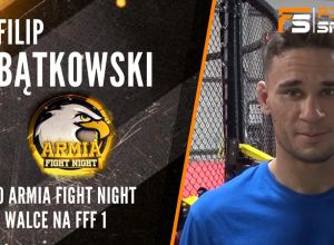 Filip Bątkowski po Armia Fight Night 6