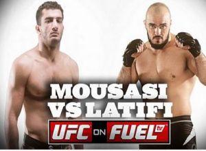 Mousasi vs Latifi