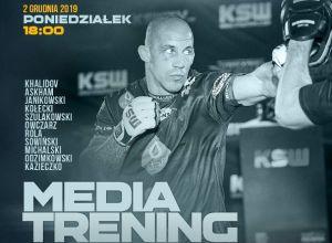 Media trening przed KSW 52