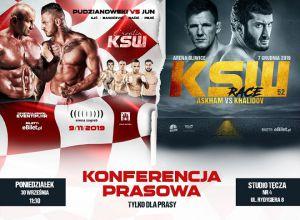 KSW 51 i KSW 52 - konferencja prasowa