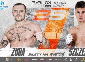 Babilon MMA 25 Zuba vs Szczepaniak