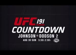Countdown to UFC 191