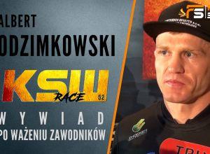 Albert Odzimkowski przed KSW 52