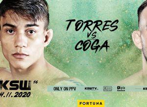 KSW 56 Torres vs Coga