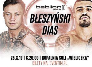 Adrian Błeszyński vs Diego Diaz na Babilon MMA 10