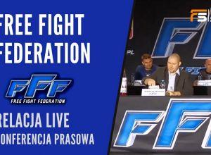 Konferencja prasowa przed galą FFF 1