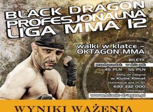 PLMMA 12 Black Dragon ważenie