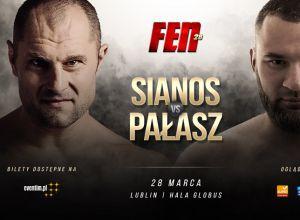 Marcin Sianos vs Adam Pałasz na FEN 28