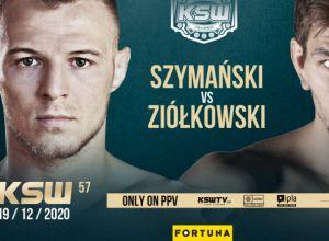 KSW 57 Szymański vs Ziółkowski