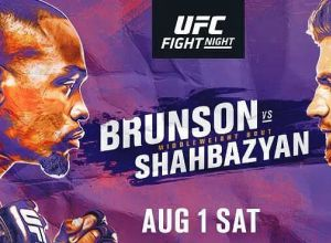 UFC Fight Night 173 Brunson vs Shahbazyan