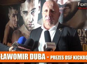 Sławomir Duba DSF Kickboxing Challenge Twierdza