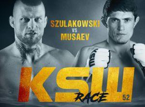 Szulakowski vs Musaev na KSW 52